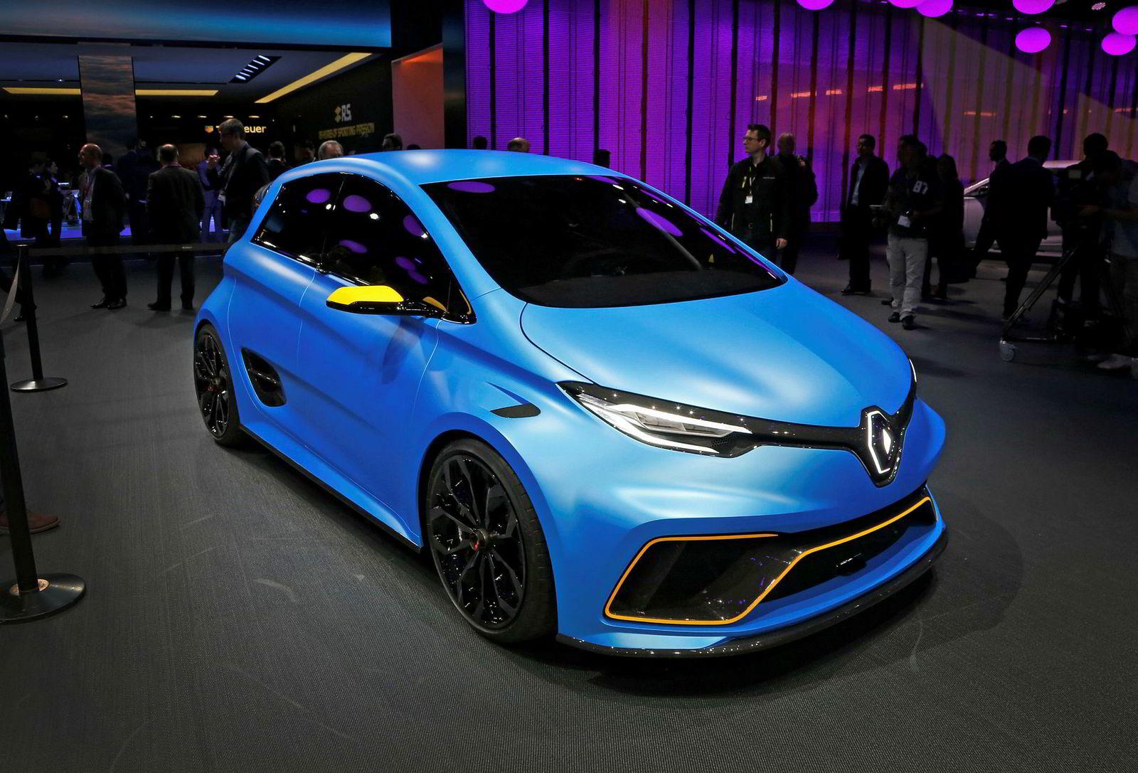 Geneve 2017. Renault Zoe e-Sport concept kommer til Norge i mai.