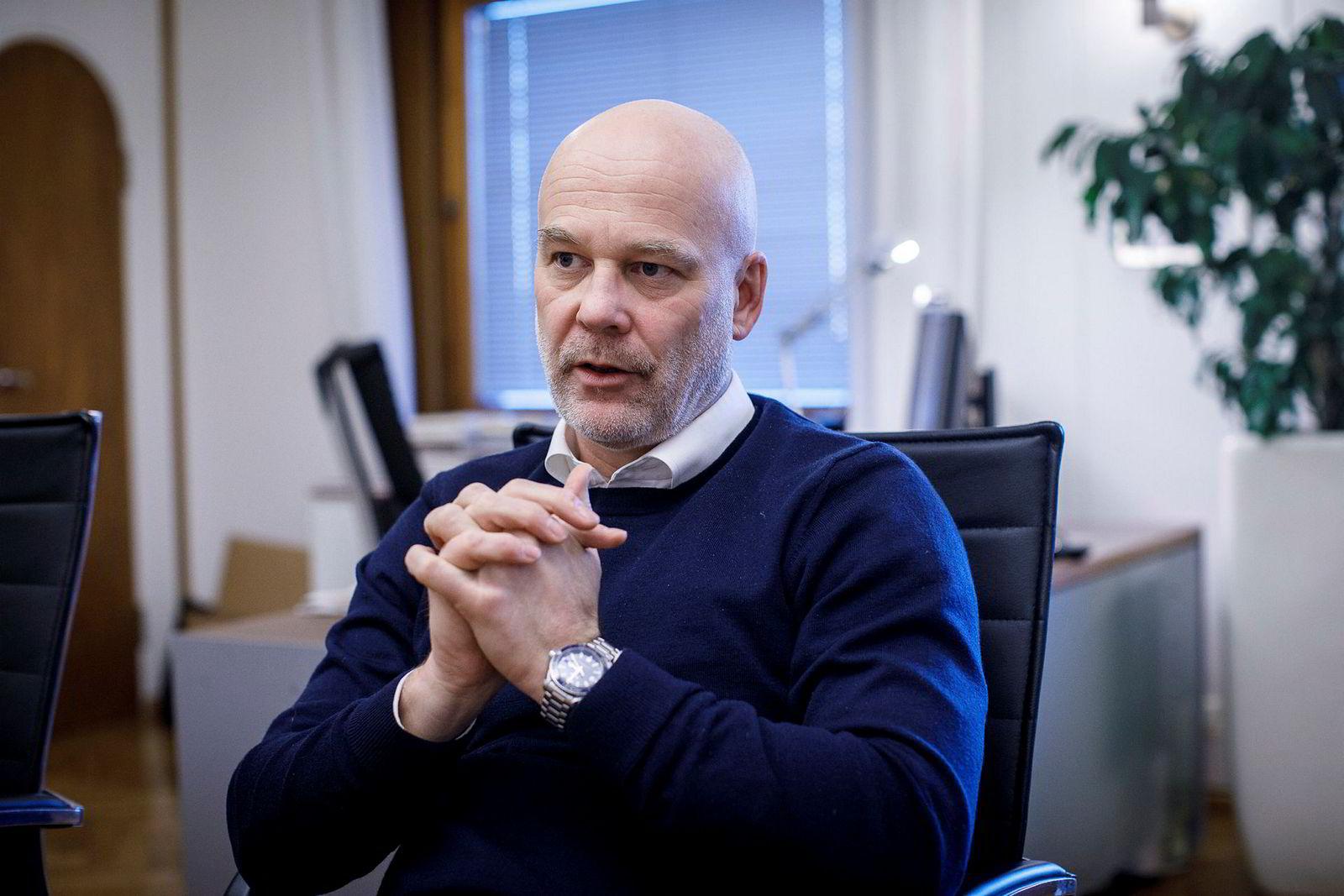 Thor Gjermund Eriksen, kringkastingssjef i NRK.