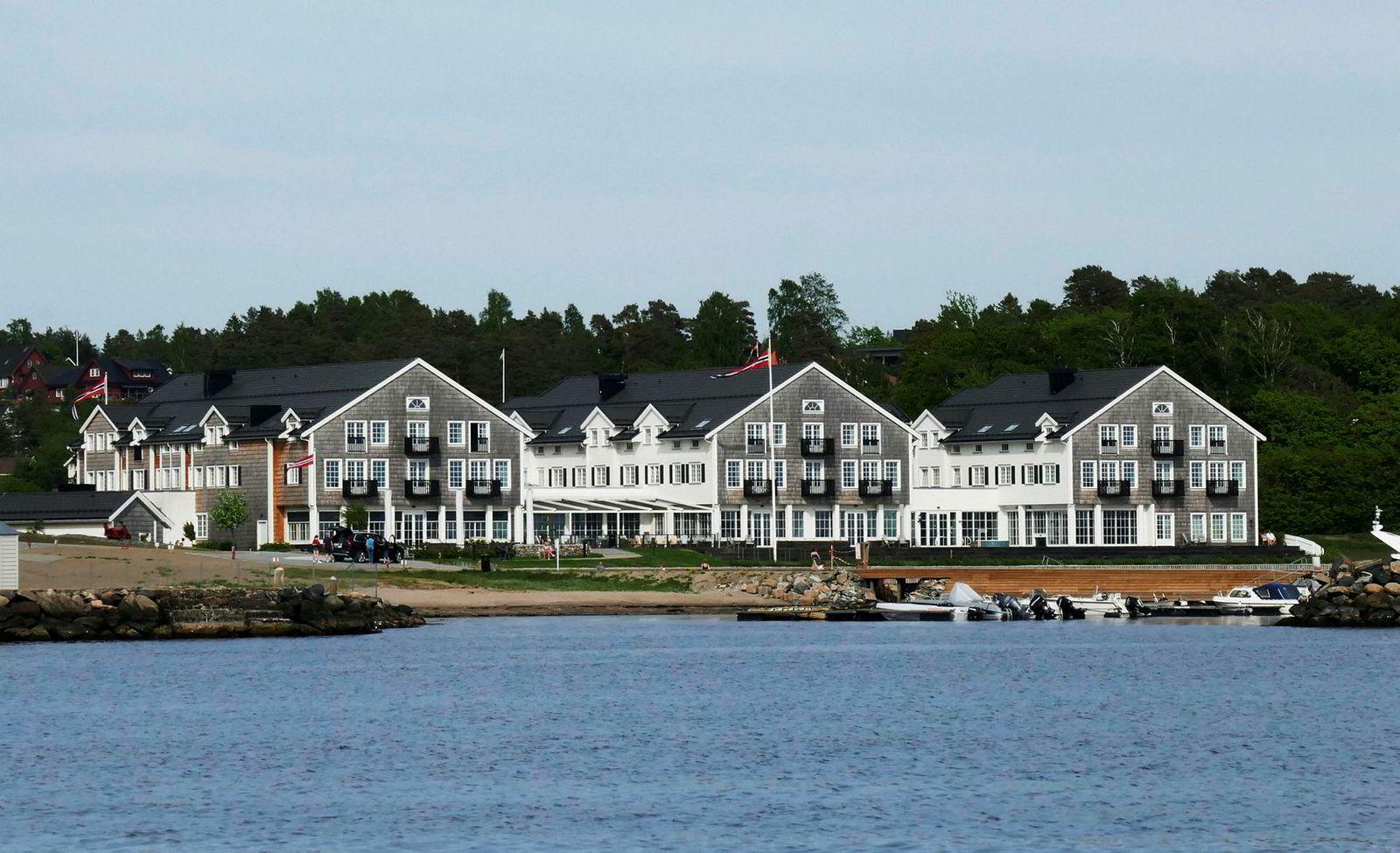 Støtvig Hotel i Larkollen i Østfold er blitt en gullgruve for Stig Fische. Nå vil han bygge ut.