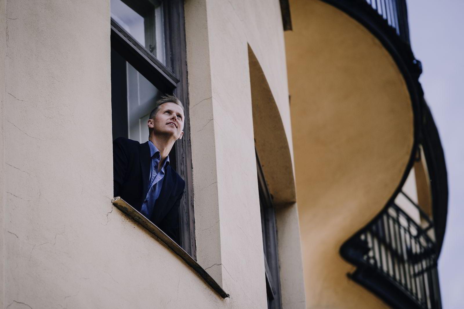Det norske boligmarkedet er et stort hinder for norske gründere som trenger investorer, mener gründer Anders Hamnes. Foto: Erik Simander /