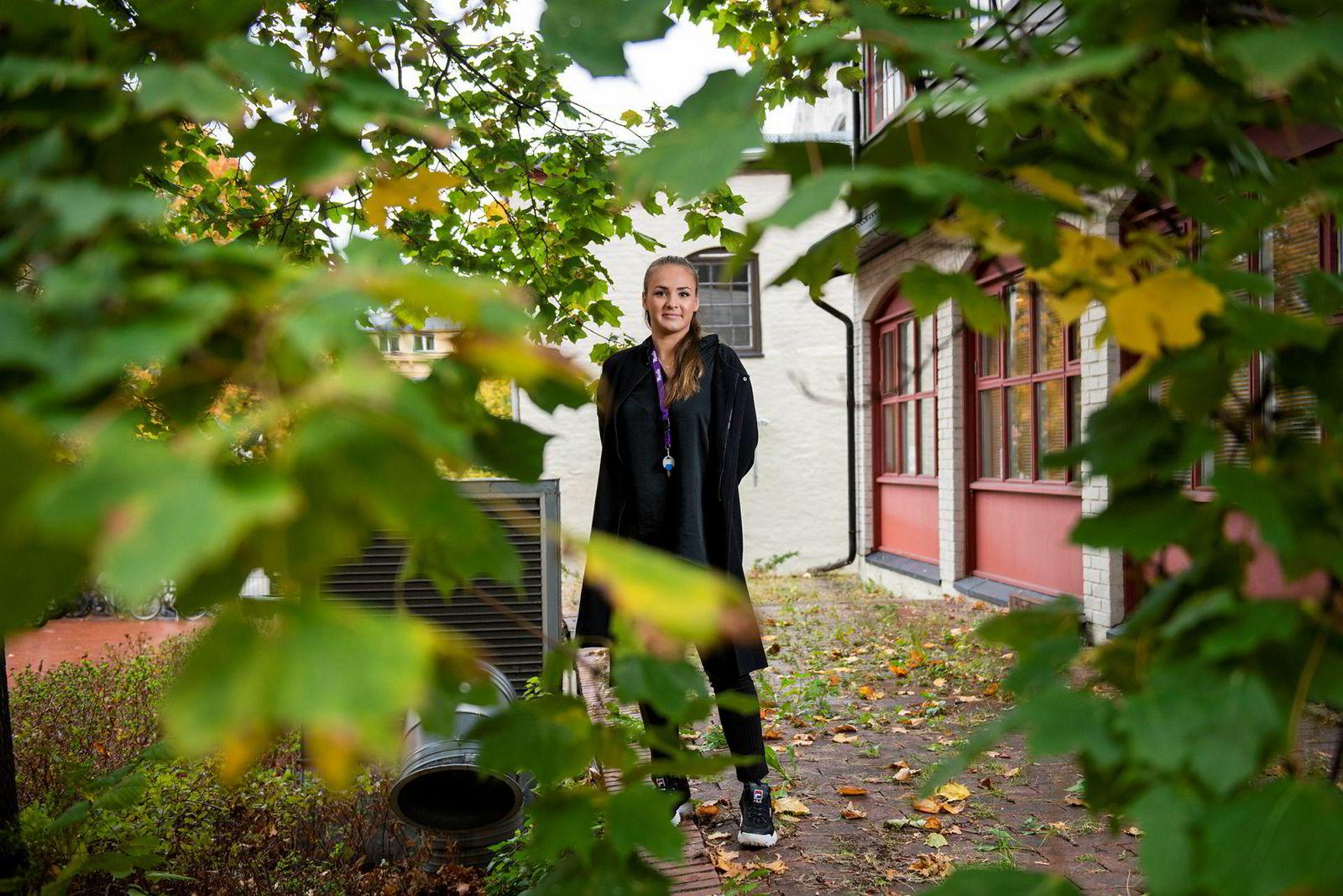 Fanny Ødegård ville egentlig bli pilot, og ideen om utelivsappen fikk hun da hun tok flytimer.