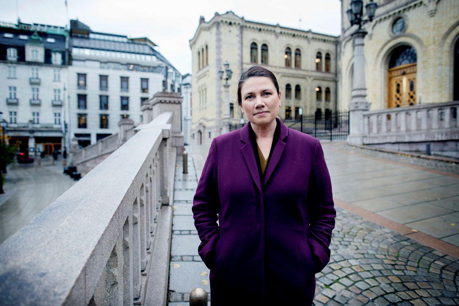 – Ap er i overkant friske i sin kritikk av regjeringen når de skryter på seg å ha skapt flere jobber i privat næringsliv enn regjeringen Solberg, sier Heidi Nordby Lunde (H).