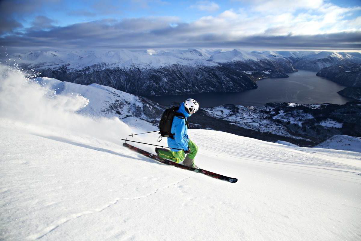 Strandafjellet har Norges beste off piste-muligheter, og havner totalt på en 9. plass i kåringen.