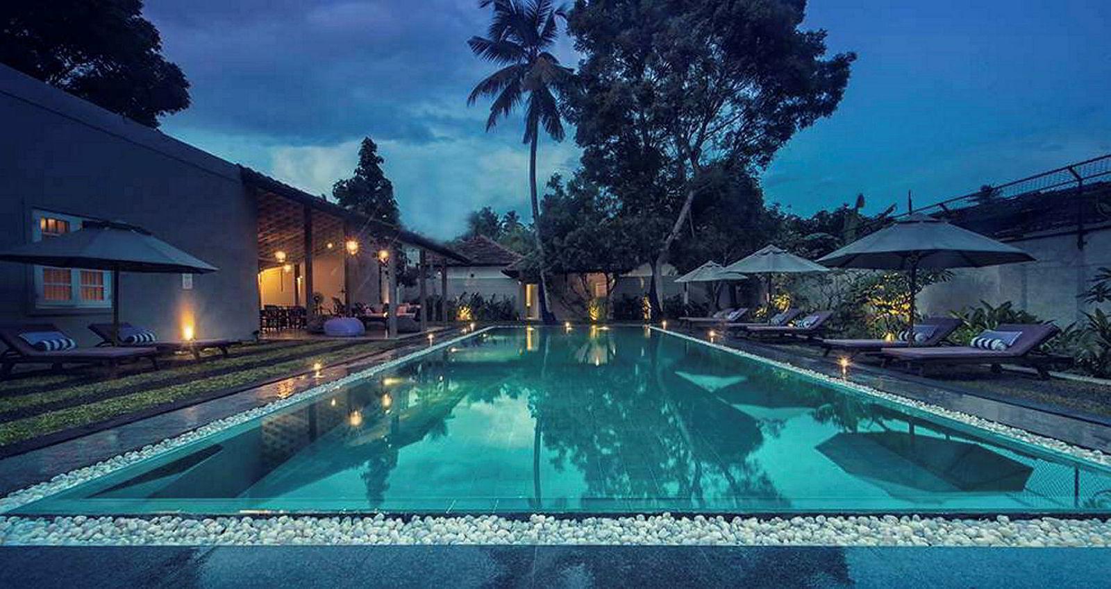 Kurt Mosvolds står fast ved planene om å bygge enda flere hoteller på Sri Lanka. Her fra Mosvolds hotell We Escape.
