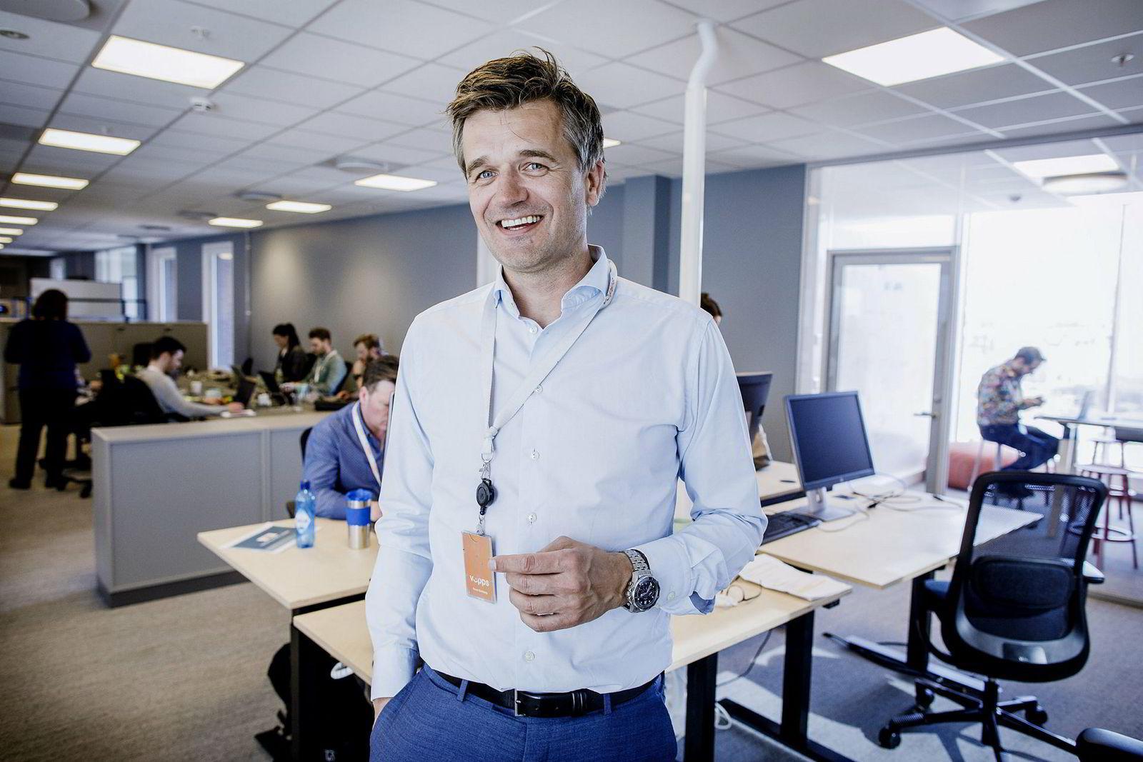 Vipps-sjef Rune Garborg har fått en ny kollega.