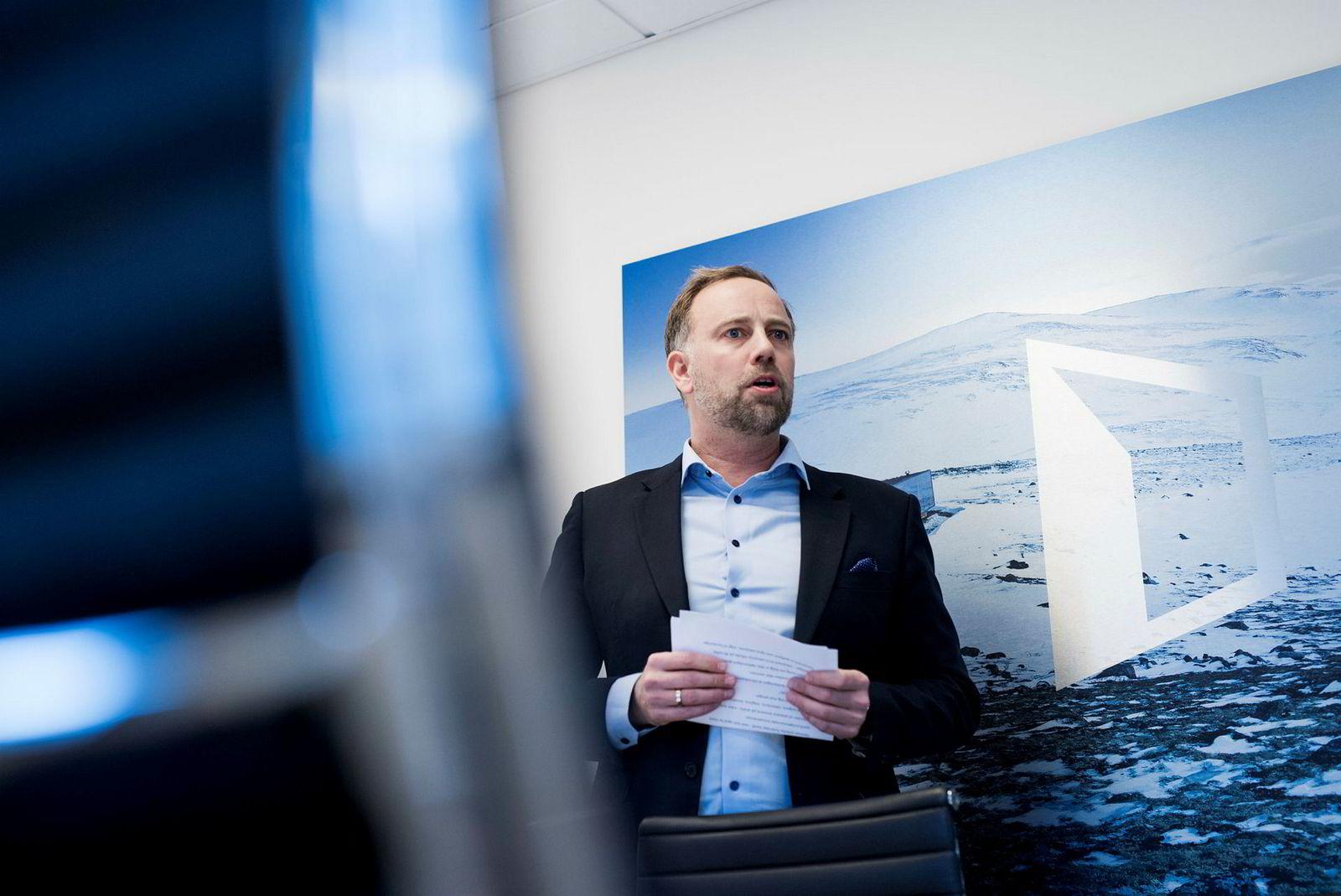 Administrerende Christian Vammervold direktør i Eiendom Norge mener boliglovgivningen ikke blir tilstrekkelig prioritert i Justis- og beredskapsdepartementet.