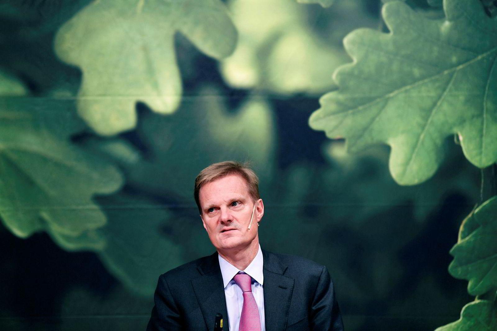 Administrerende direktør i Swedbank Jens Henriksson