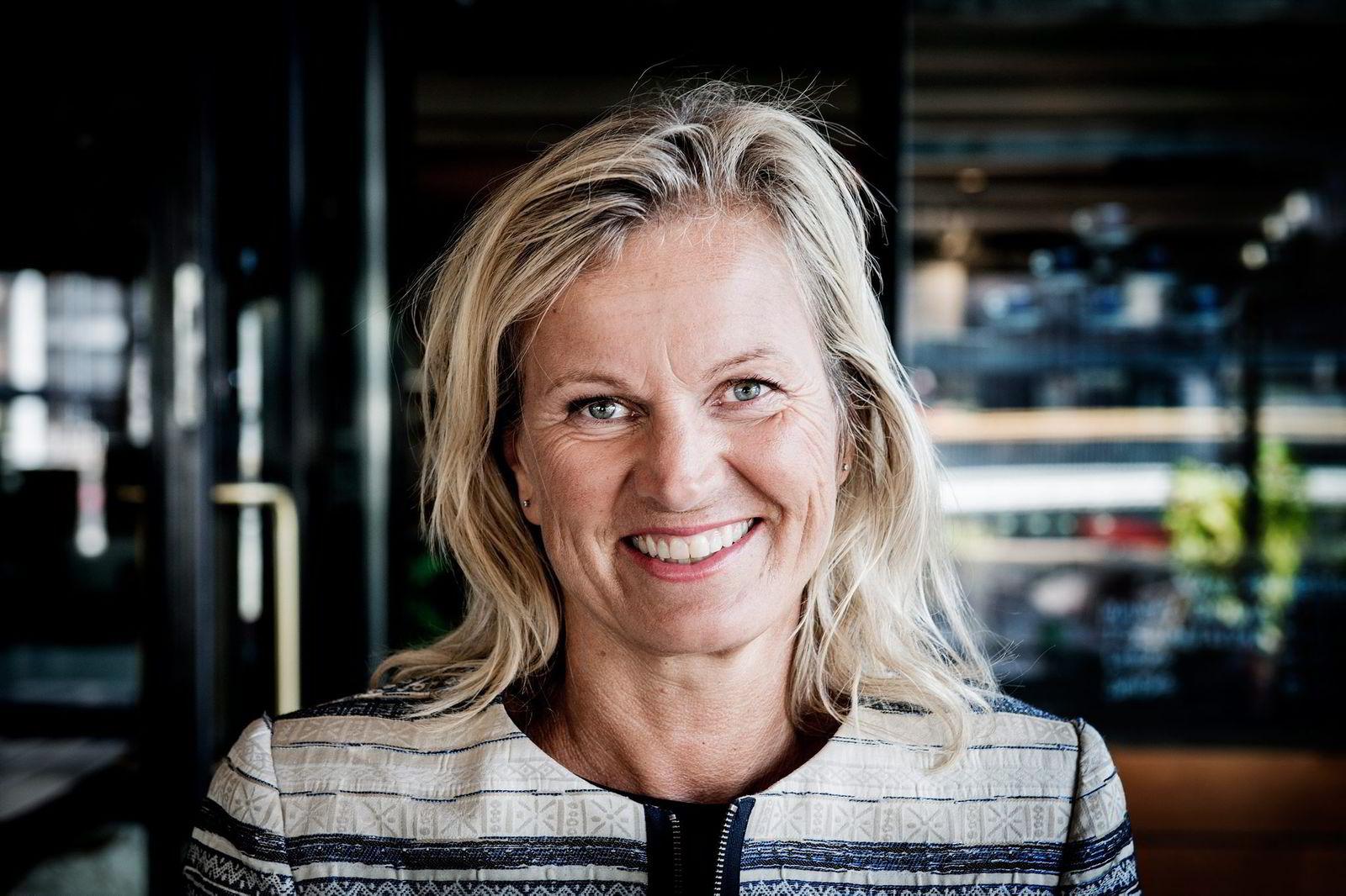 – Vi vil ikke sende 22 tilsyn hjem i hver leilighet, sier Kristin Krohn Devold, direktør i NHO Reiseliv. Foto: Gorm K. Gaare