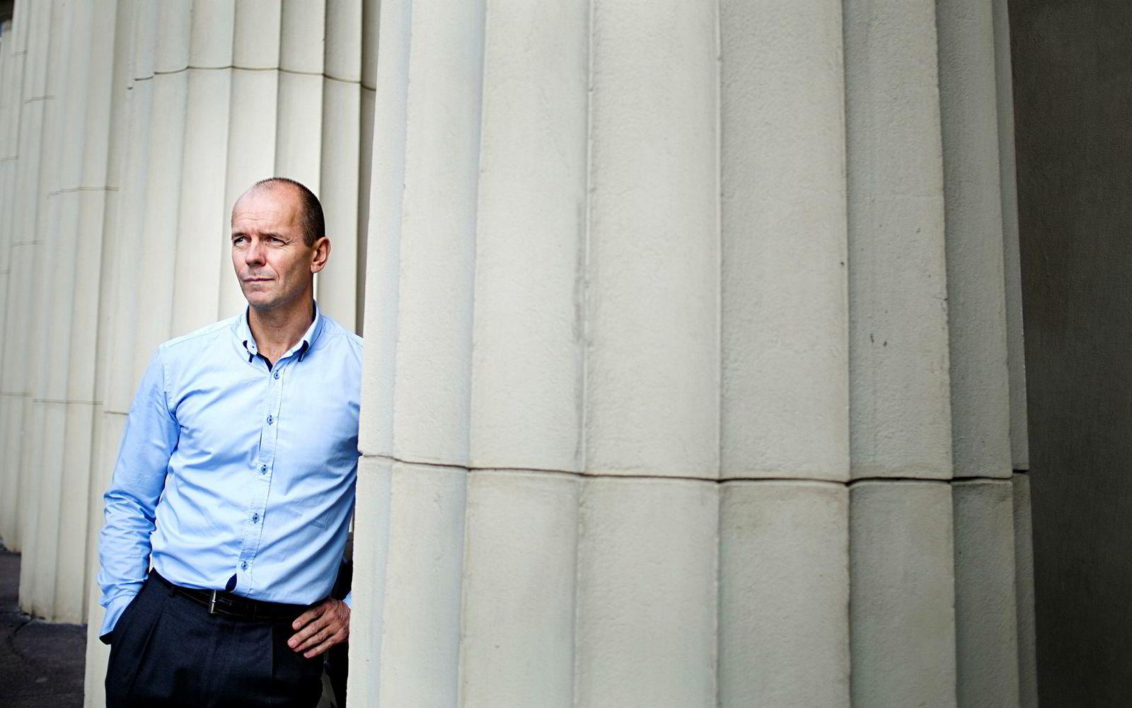 Kommunikasjonsdirektør Per Eikrem, Oslo Børs.