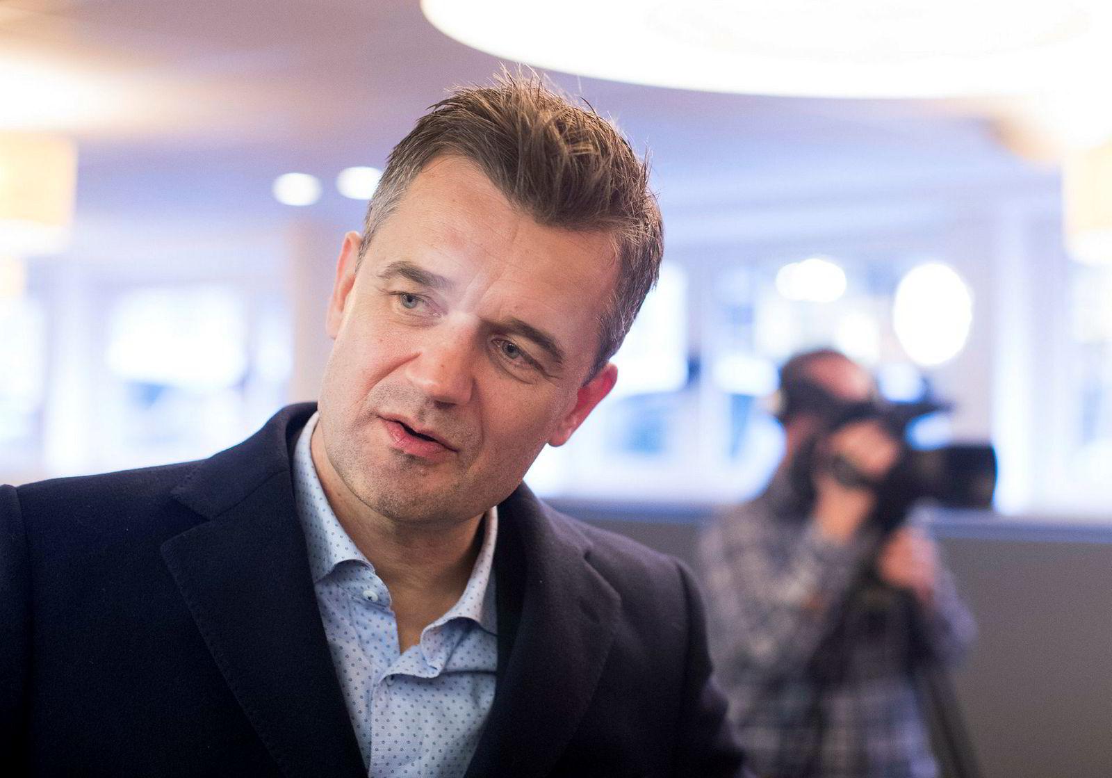 Vipps-sjef Rune Garborg tror appen kan lanseres i utlandet neste år.