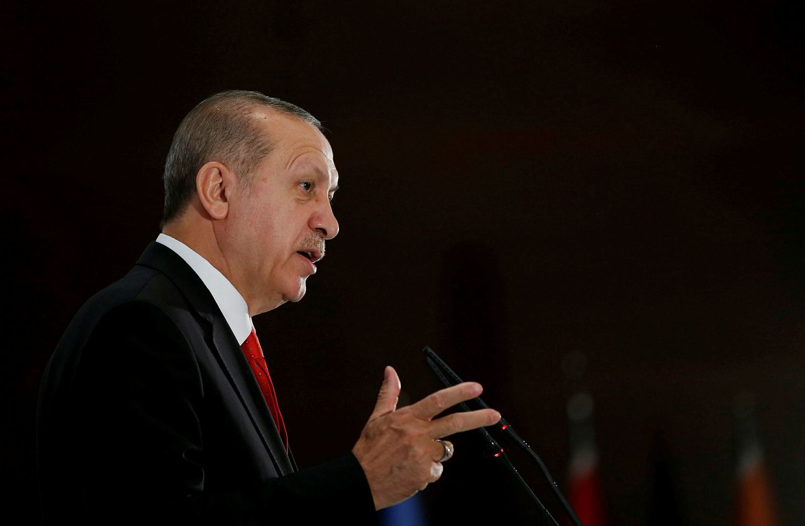 Tyrkias president RecepTayyip Erdoğan.