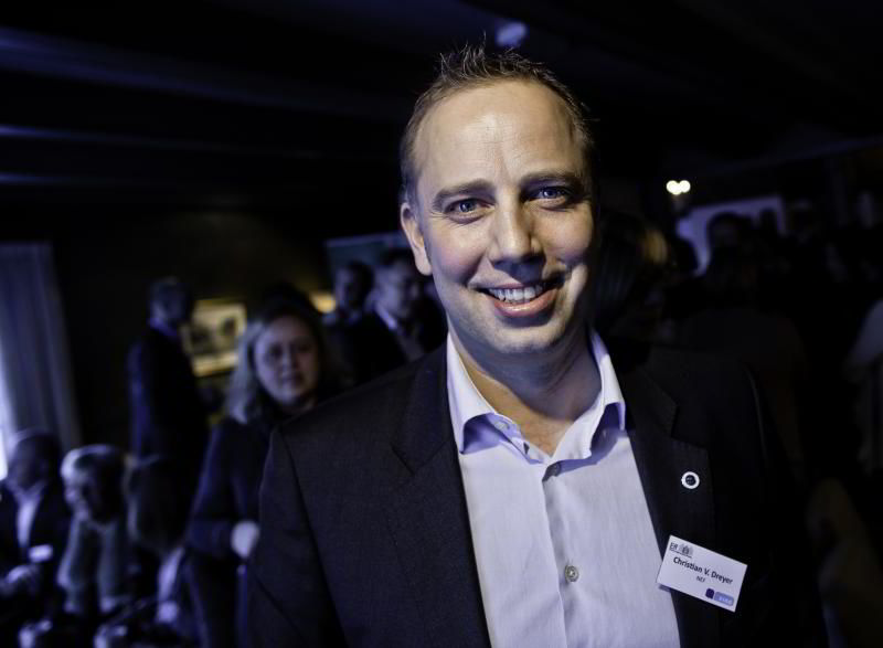 Administrerende direktør Christian V. Dreyer i Eiendom Norge. FOTO: GUNNAR BLØNDAL