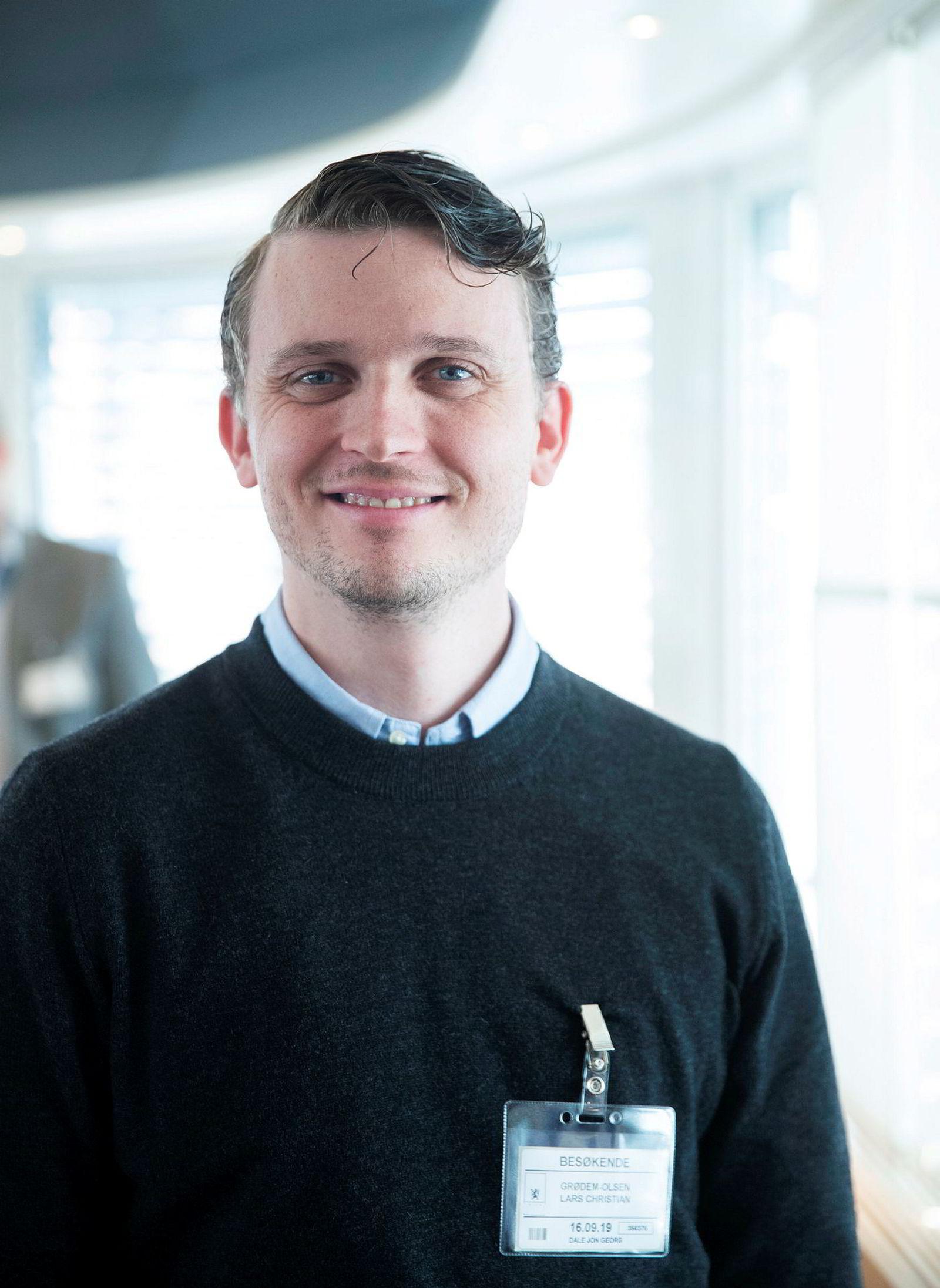 Lars Christian Grødem-Olsen i Tier.