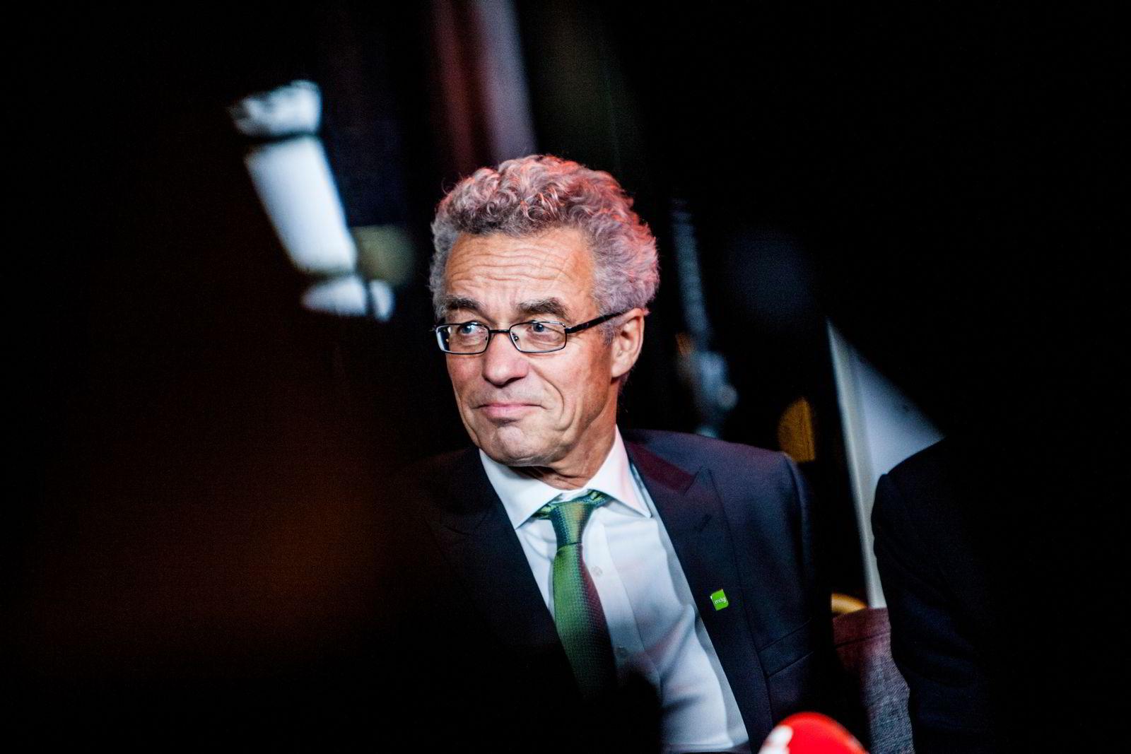 Rasmus Hansson fra Miljøpartiet de grønne i livestudioet til Dagbladet.