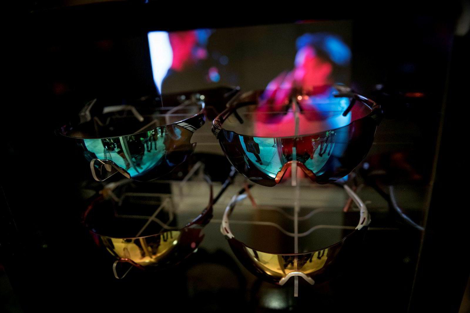 Her er Petter Northugs nye sportsbriller.