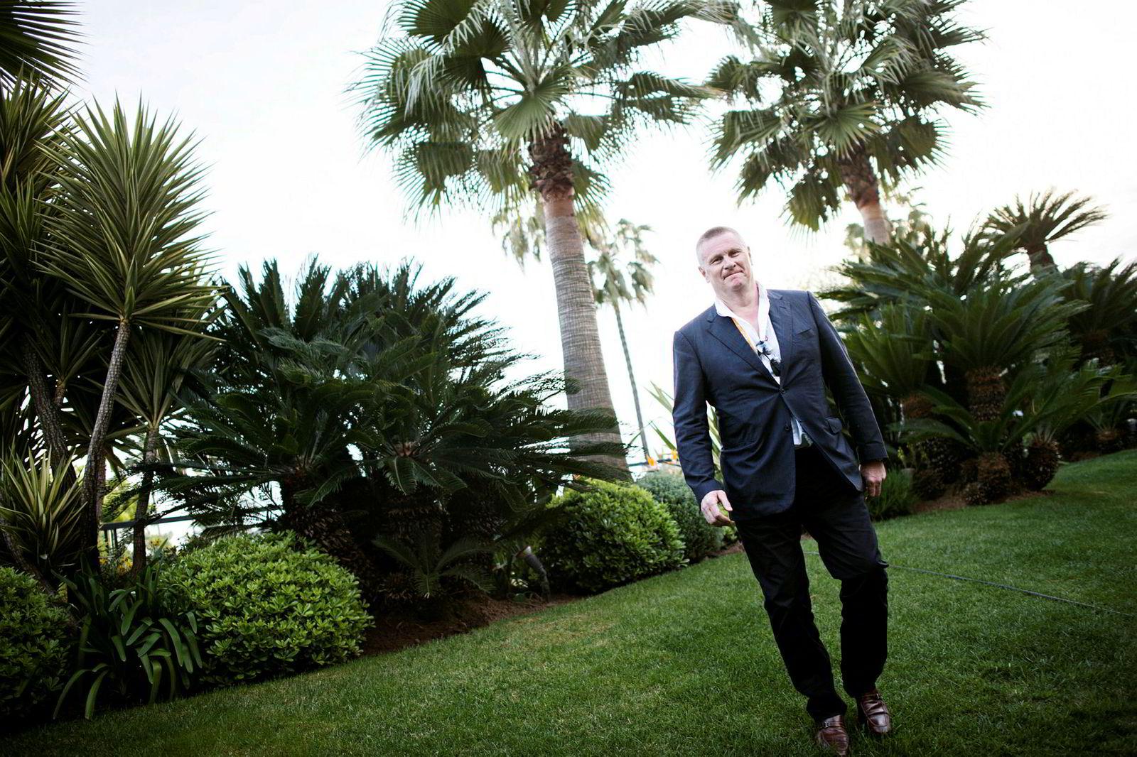 Lasse Hallberg er administrerende direktør både i Monday og dets nå heleide Feelgood. Her er han avbildet i Cannes i 2017.