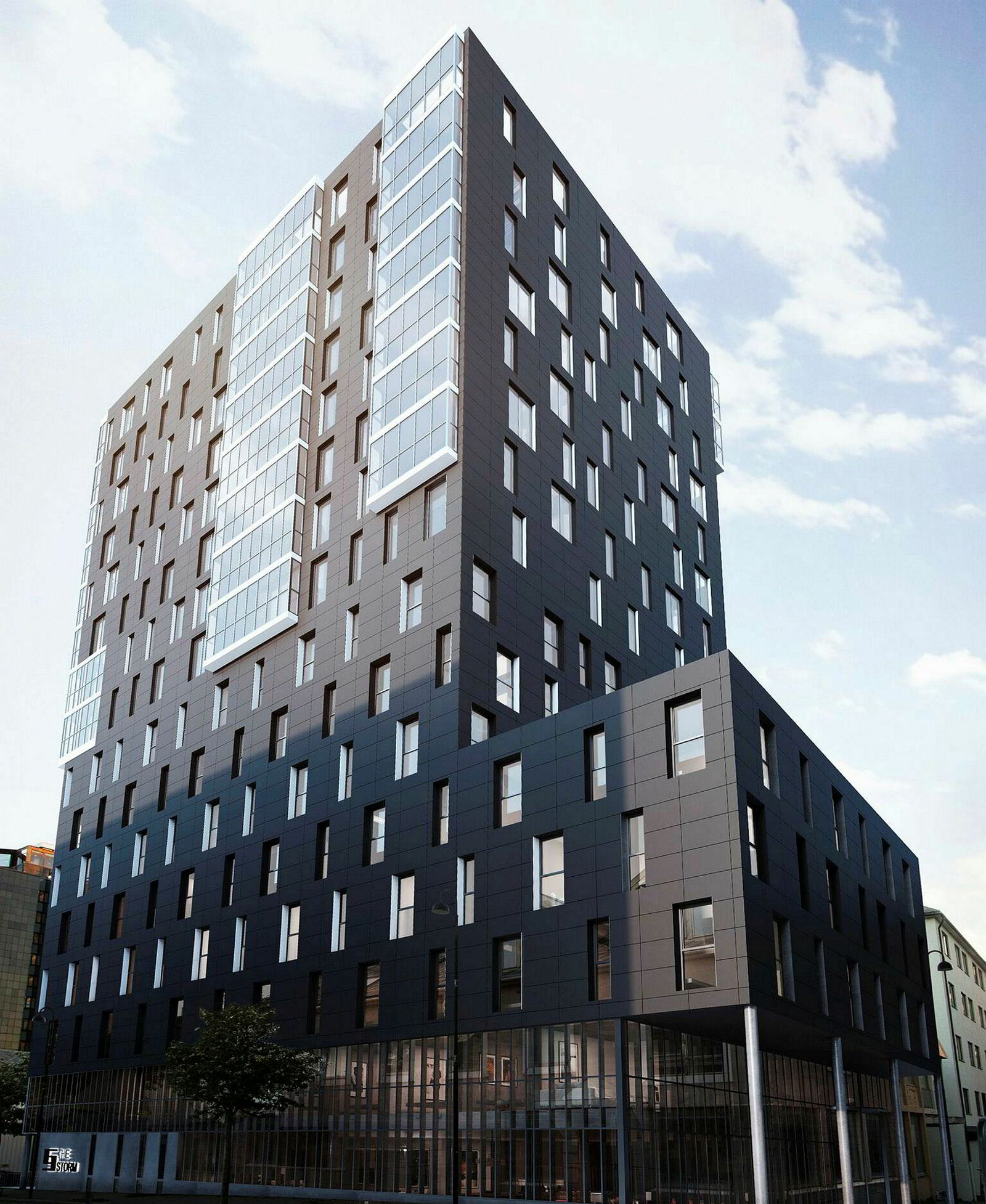 Norlandia Hotel Group skal drive dette nye hotellet i Bodø, som har fått arbeidstittel «The Storm», på franchise med Petter A. Stordalens Nordic Choice. Hotellet får 160 rom og blir en del av Stordalens Comfort-kjede.
