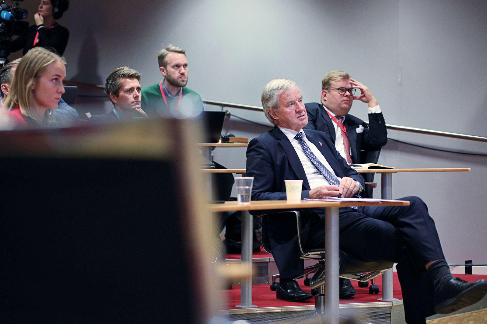 Norwegian-sjef Bjørn Kjos legger torsdag frem tall for tredje kvartal.
