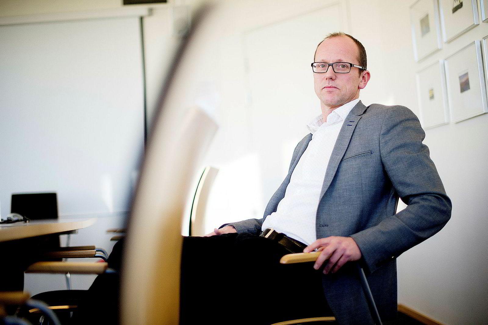 Konsernsjef Per Magne Tveiten i Mentor Medier. Han er også styreleder i Vårt Land.