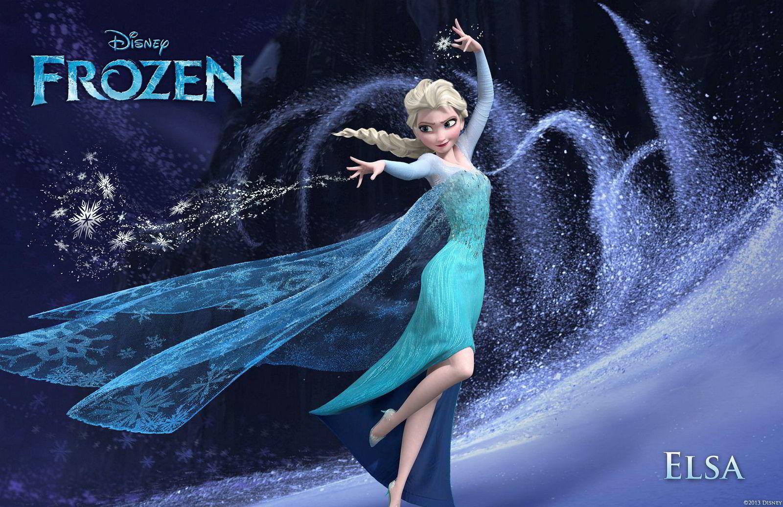 Disney har tjent flere ganger filmens omsetning på å selge dukker og plakater av prinsessen Elsa fra suksessen «Frost».