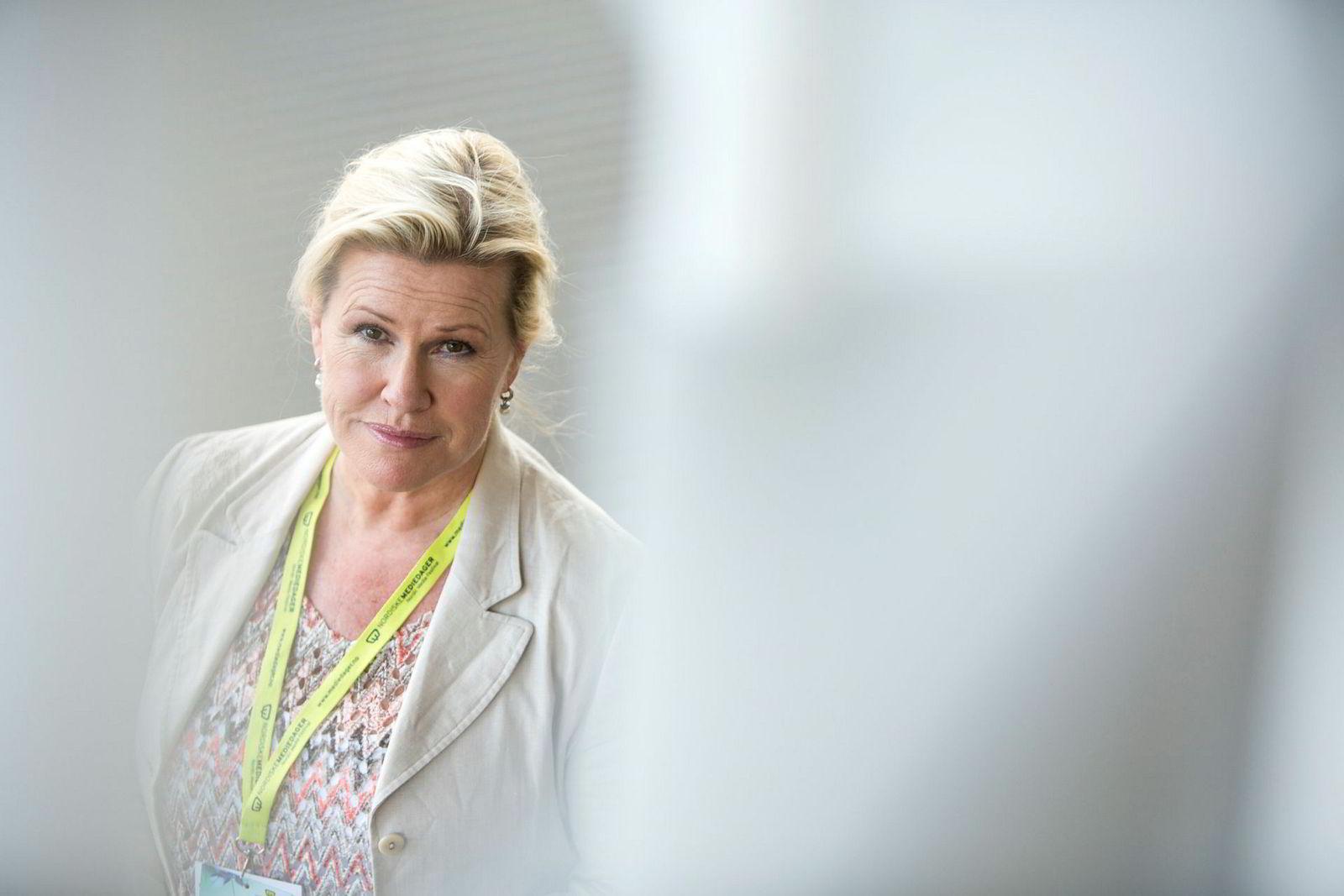 Festivalsjef for Nordiske Mediedager, Guri Heftye.