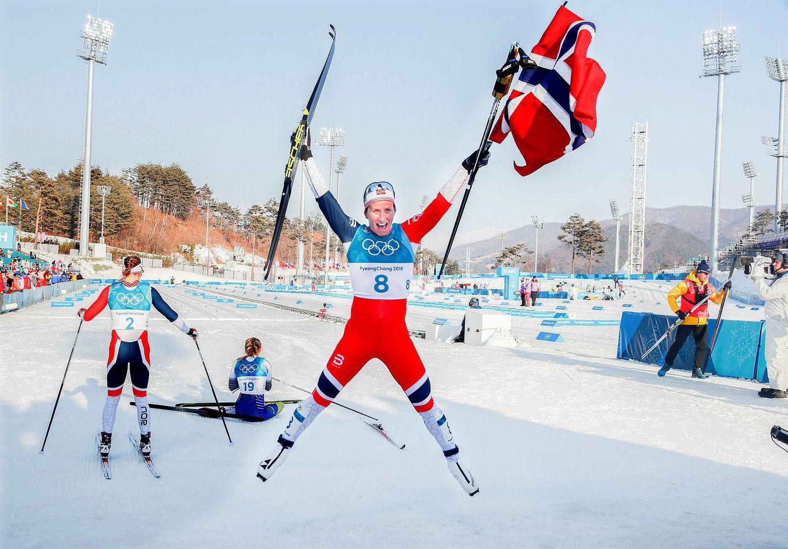 Discovery hadde rettighetene på fjorårets vinter-OL i Pyeongchang i Sør-Korea, der Marit Bjørgen ble OL-dronning med gull på klassisk 30 km.