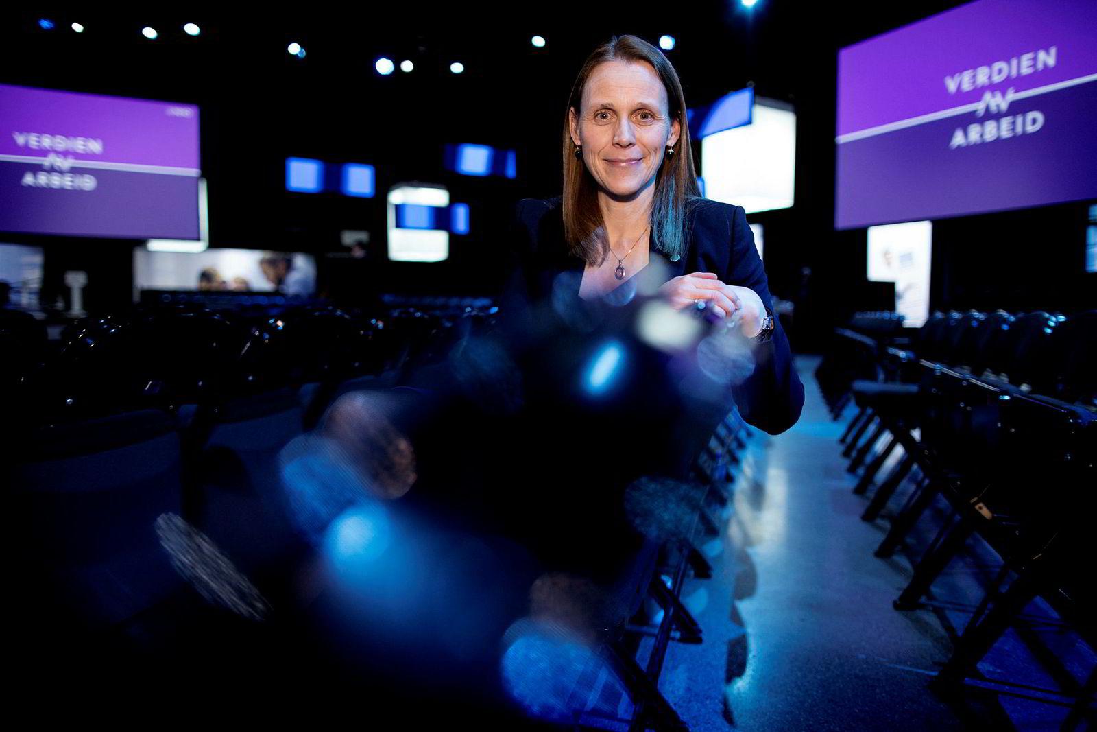 Tekna-president Lise Lyngsnes Randeberg kan glede seg over at sivilingeniørene har hatt en solid lønnsvekst det siste året.