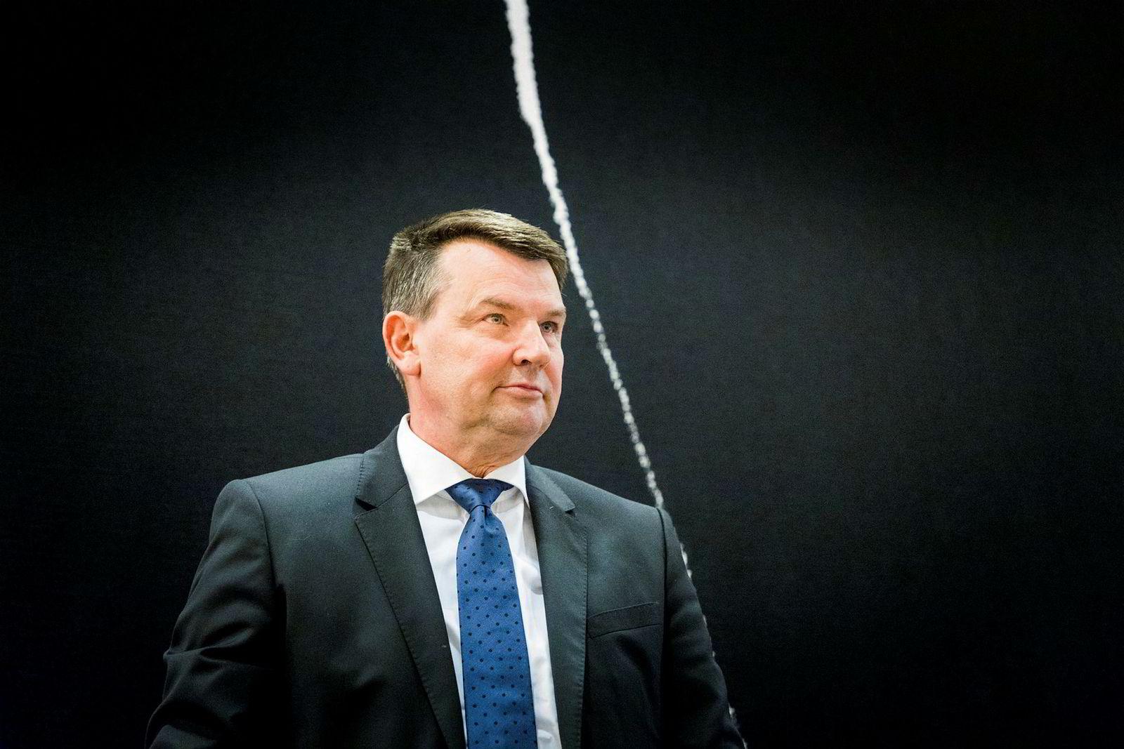 Justisminister Tor Mikkel Wara.