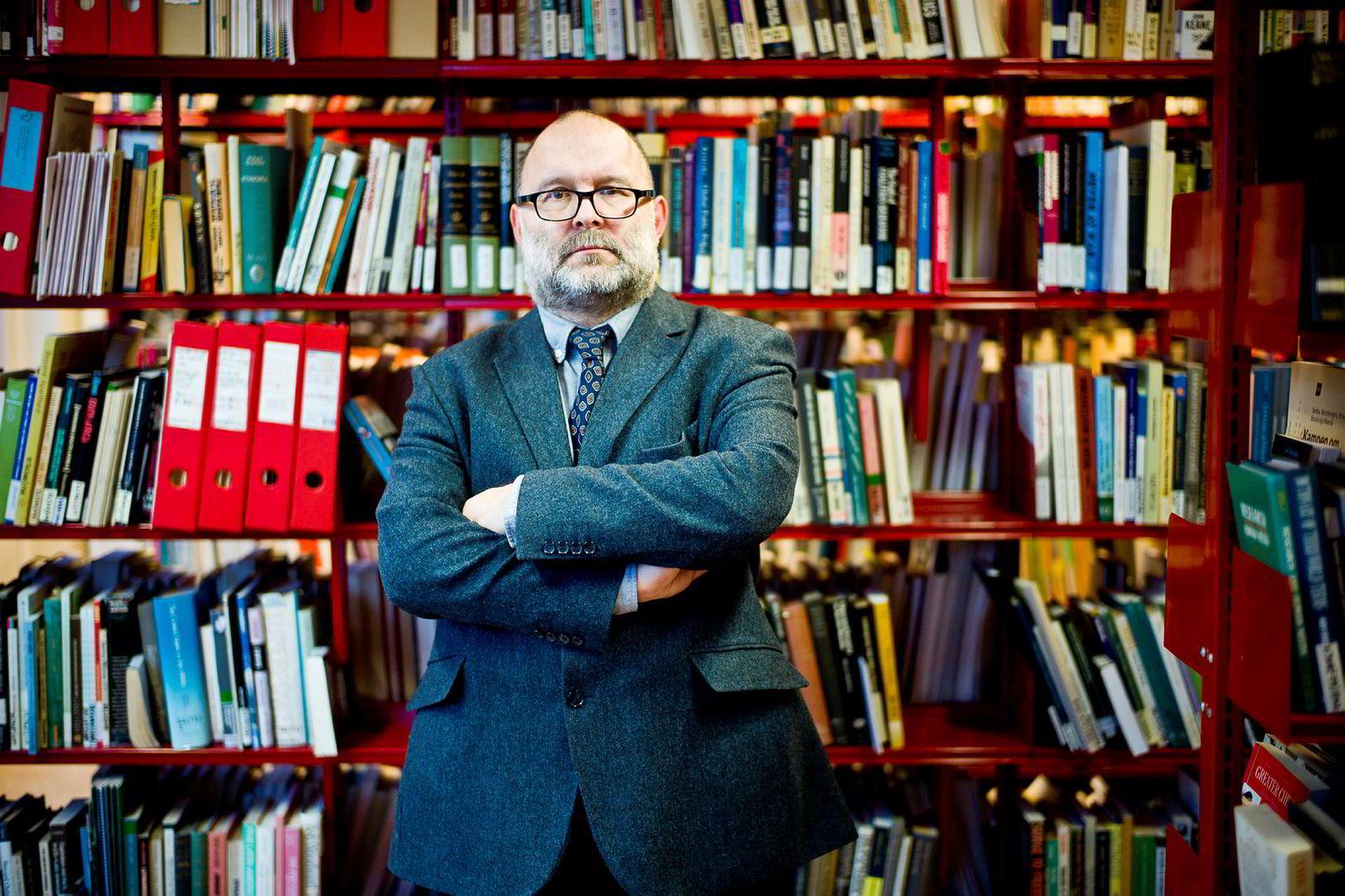 Jakub M. Godzimirski er forsker ved Nupi, og betegner utviklingen i EU som en seier for Russland.