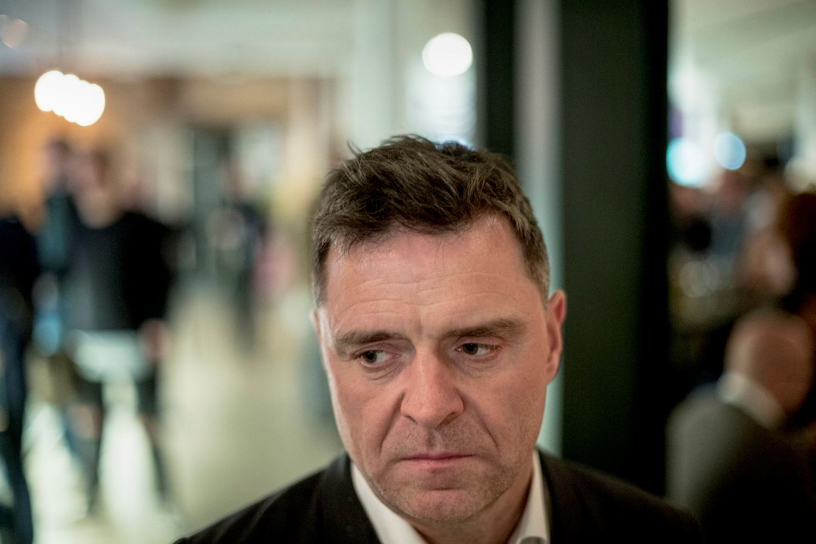 Sjefredaktør i Aftenposten Espen Egil Hansen.
