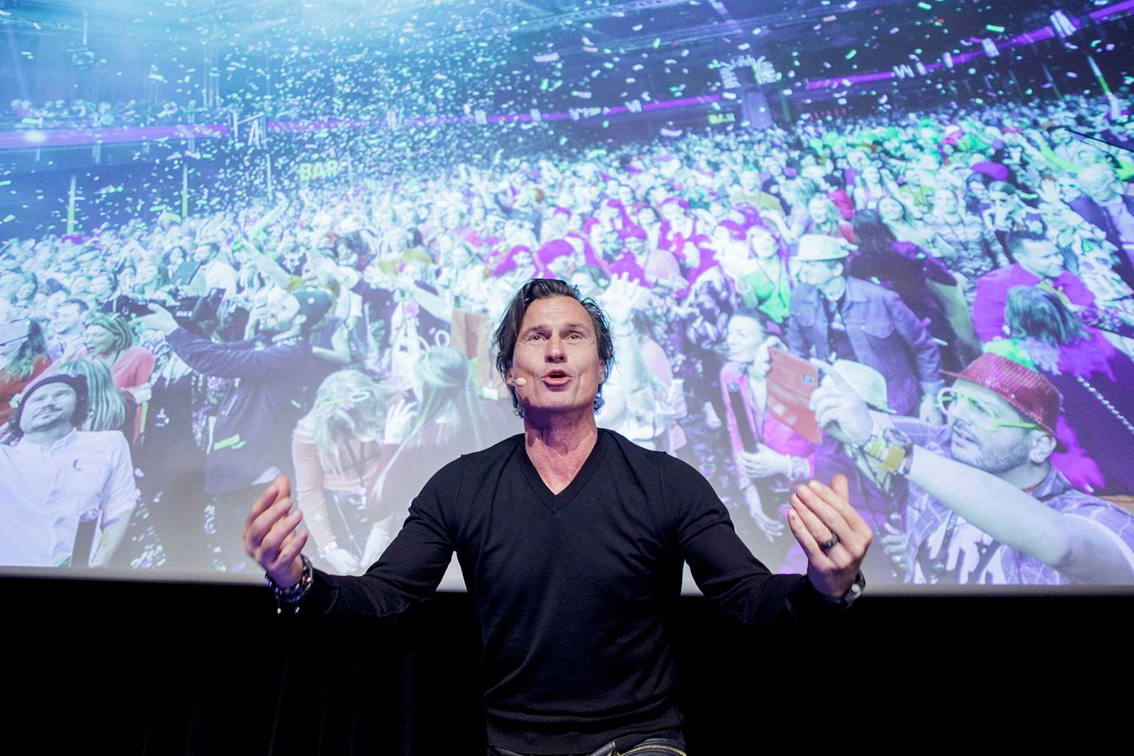 Strawberry-eier Petter A. Stordalen holdt foredrag om viktigheten av kultur på arbeidsplassen, og han fortalte hva slags arbeidskultur han forsøker å skape.