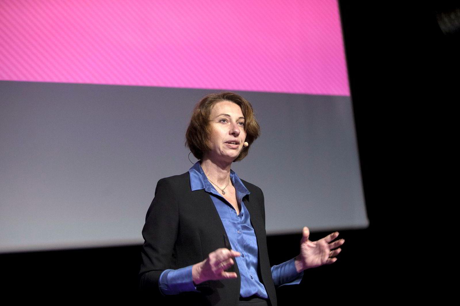 Også Silvija Seres, partner i TechnoRoks og president i Polyteknisk Forening er en etterspurt foredragsholder.
