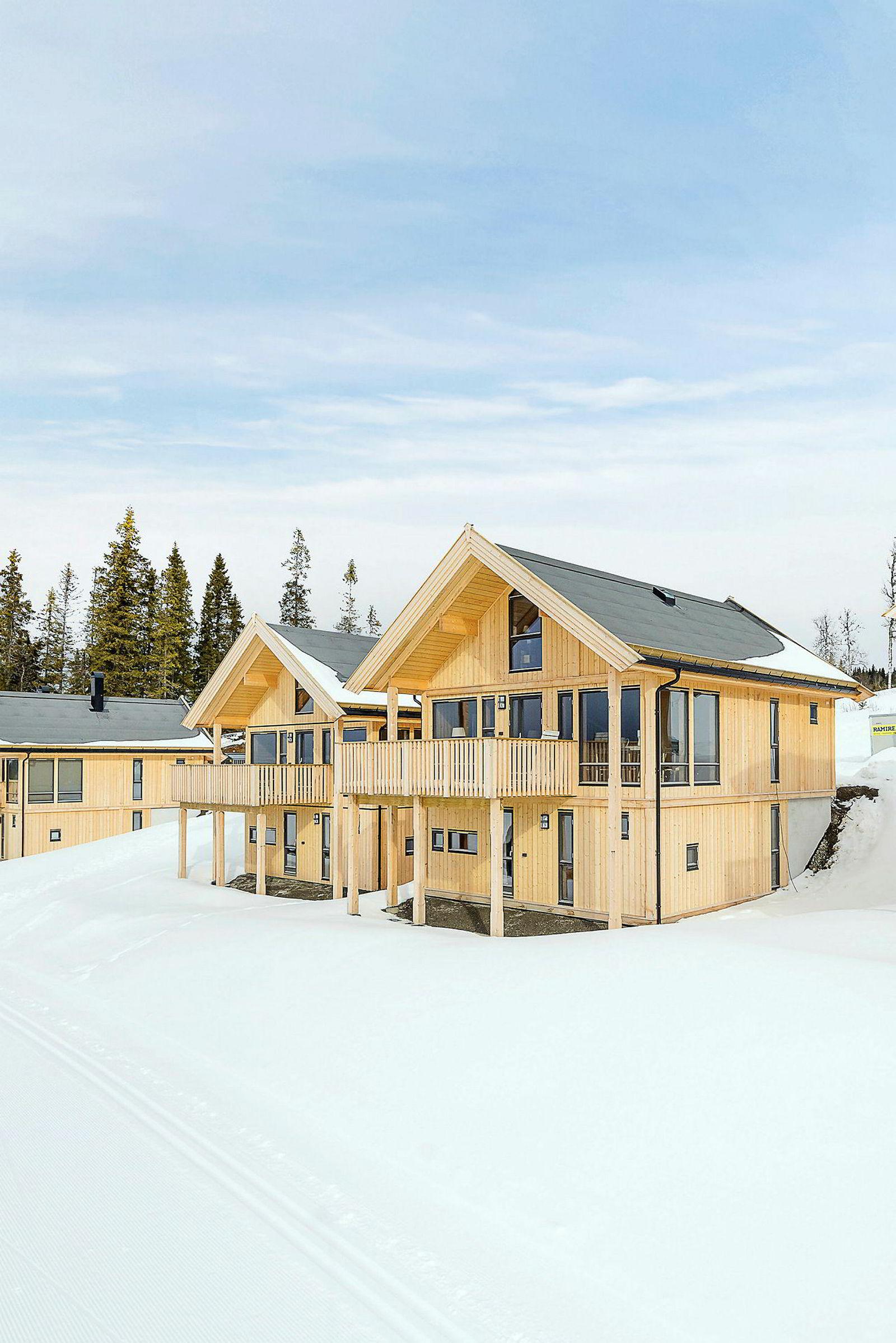 Nyoppført hytte på Stavtaket 4, 117 kvm. Prisantydning: 4,29 mill. Solgt etter 7 dager til 4,2 mill.