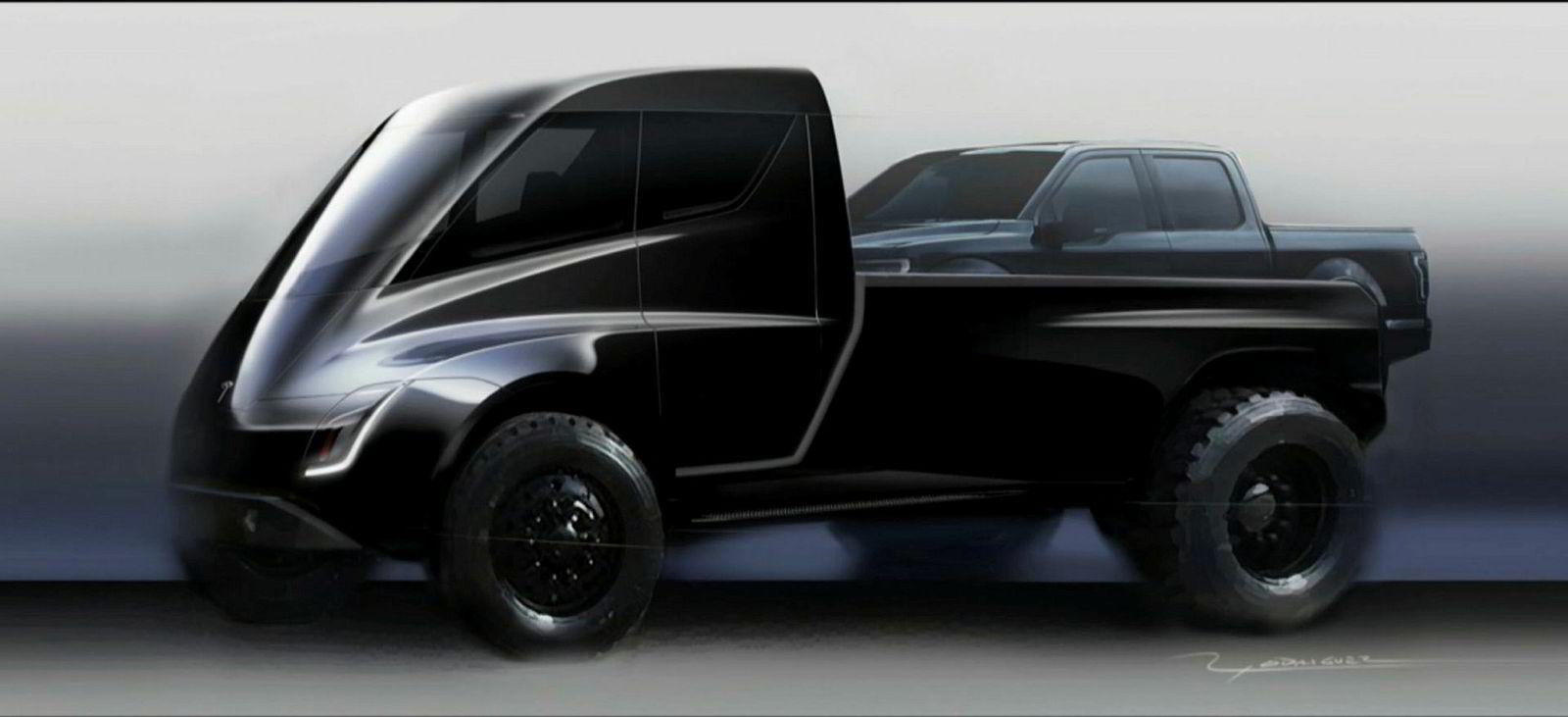 Tesla Semi pickup.