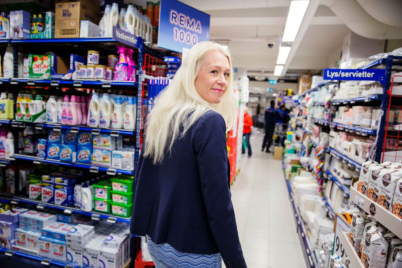 Kommunikasjonsdirektør Mette Fossum i Rema 1000 kjenner seg ikke igjen i beskrivelsene fra tidligere kjøpmenn.