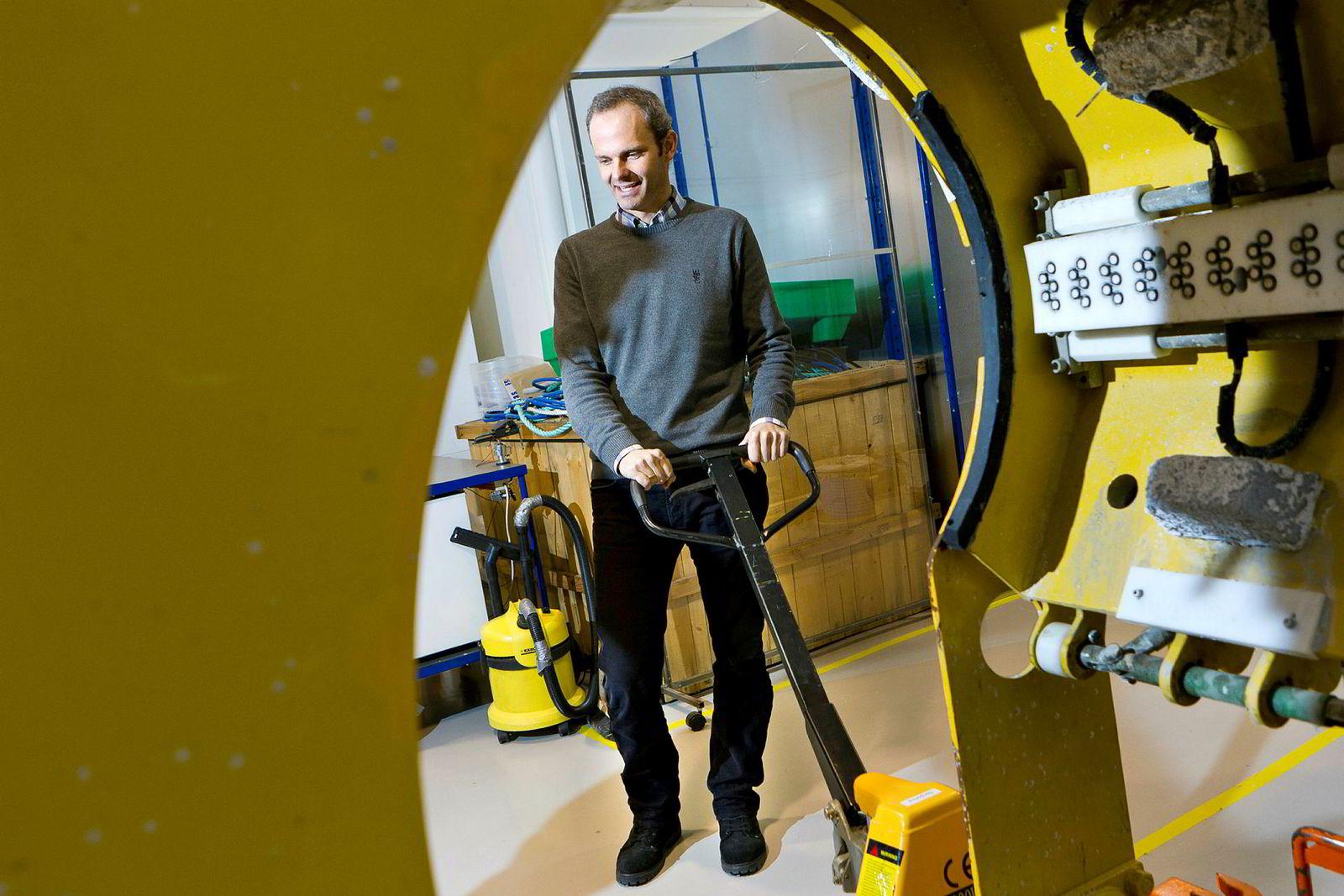 Toppsjef, grunnlegger og friluftsentusiast Børge Gjeldvik leder Axess-gruppen fra Molde.