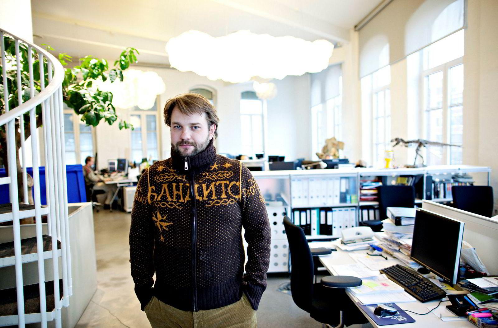 Daglig leder Kjetil Omberg i Tappeluft Pictures Holding.