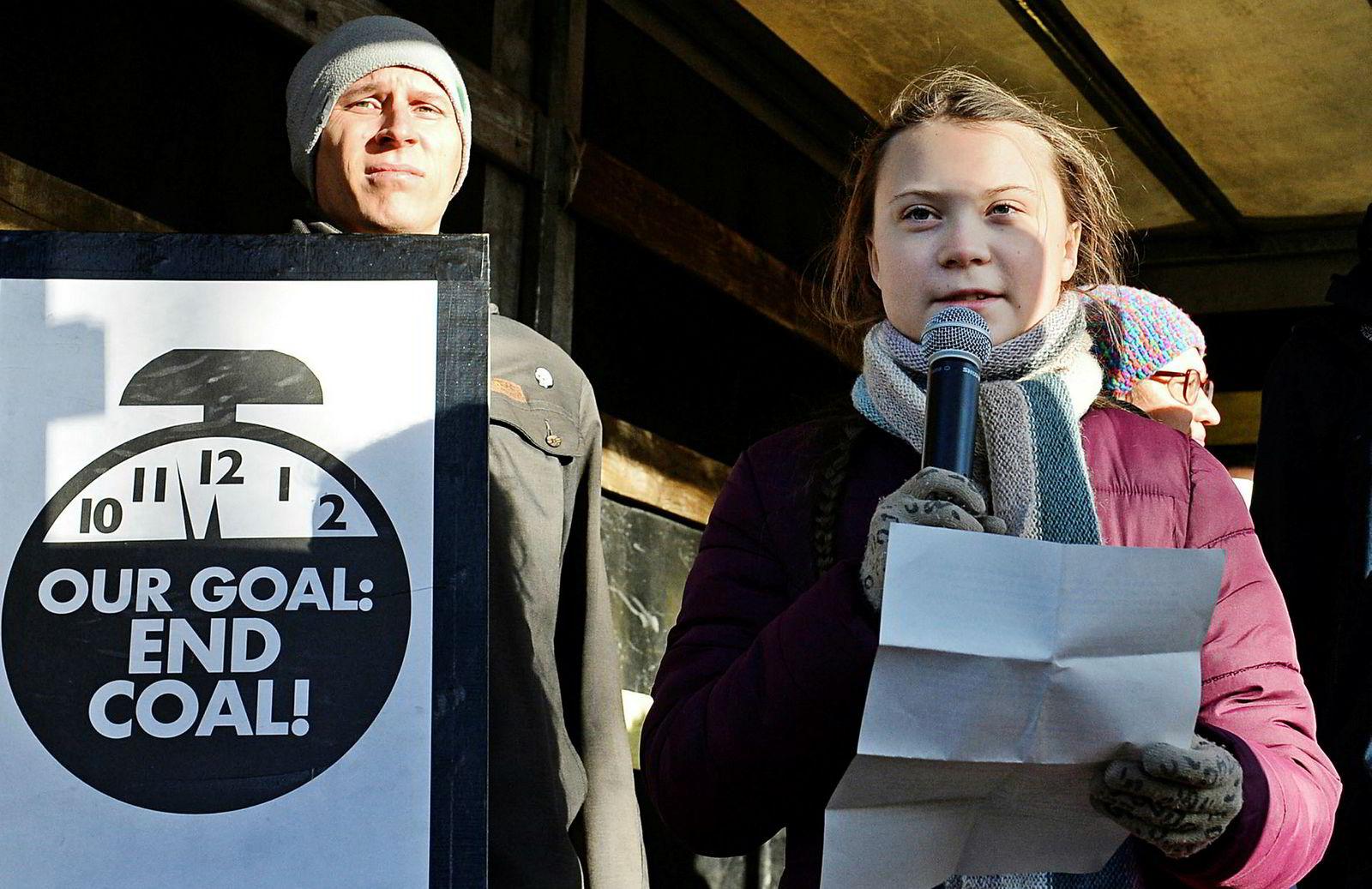16 år gamle Greta Thunberg har det siste året klart å sette klimakamp på den globale dagsorden.