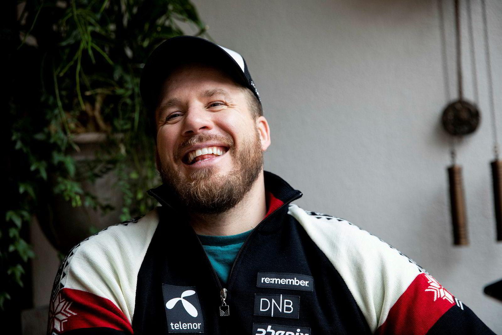 Kjetil Jansrud har all grunn til å smile, etter at leiligheten hans på Alexander Kiellandsplass i Oslo ble solgt denne uken. Prisen vil han derimot ikke ut med.