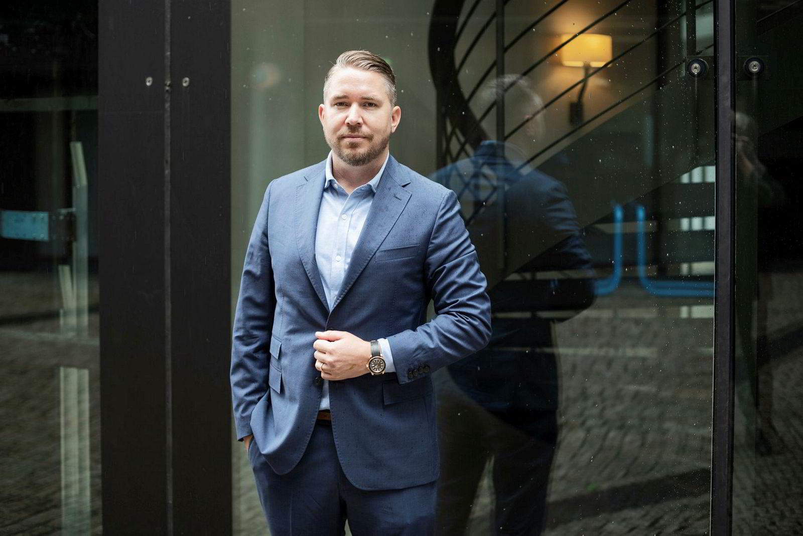 Advokat Erling Løken Andersen.