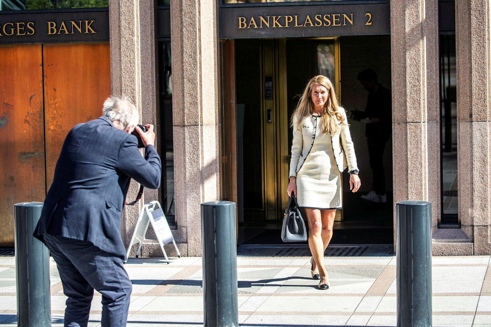 Julie Brodtkorb, leder for representantskapet til Norges Bank.