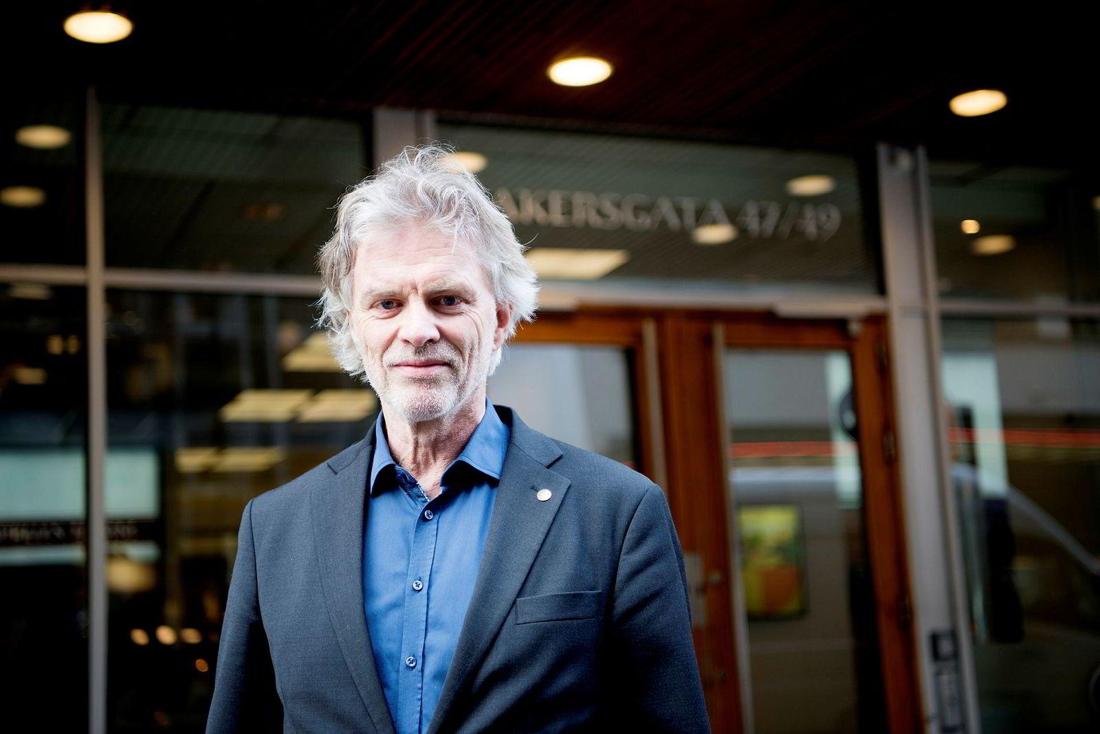 Administrerende direktør Tom Harald Jenssen i Cappelen Damm.