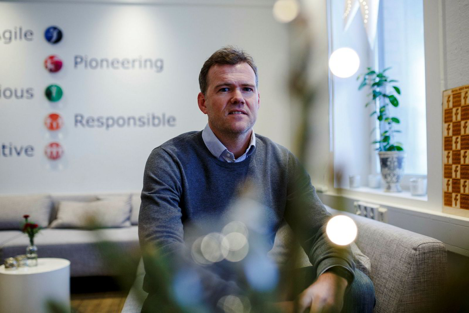 Tv- og radiosjef Morten Wiberg i Carat lar seg ikke overraske over hvor lite nordmenn ser på lineær-tv.