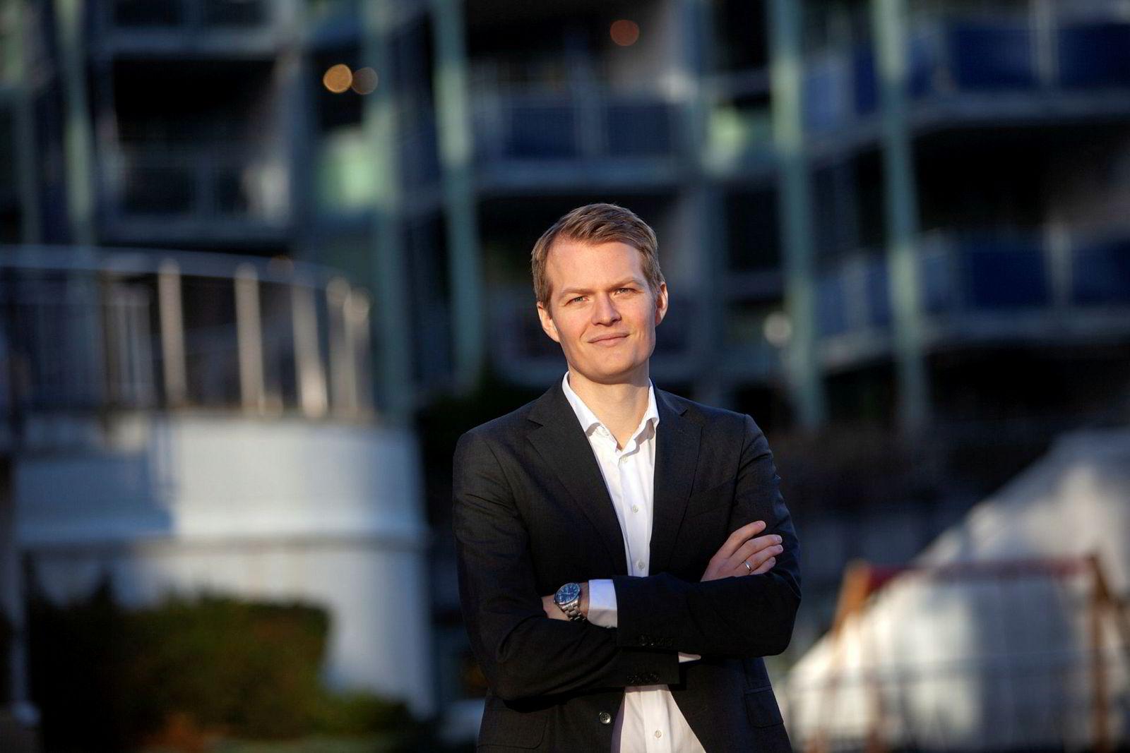 Valutastrateg Kjetil Martinsen, Swedbank.