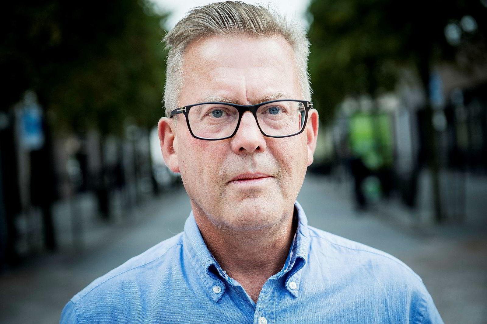 Daglig leder Per Broch Mathisen, NOTC.