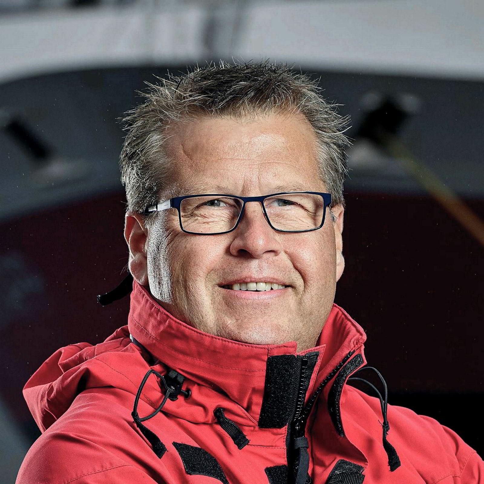 Thomas Westergaard, direktør for produktutvikling og hotelldrift i Hurtigruten, mener det uforståelig sjenerøst at staten nærmest har gitt bort Nordkapplatået til Rica/Scandic.
