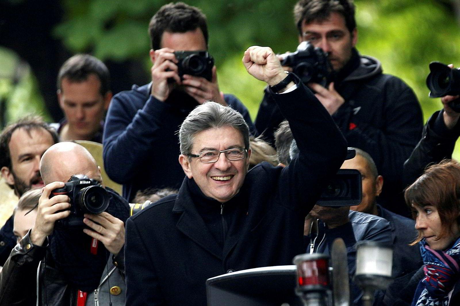 Jean-Luc Mélenchon leder forDet opprørske Frankrike