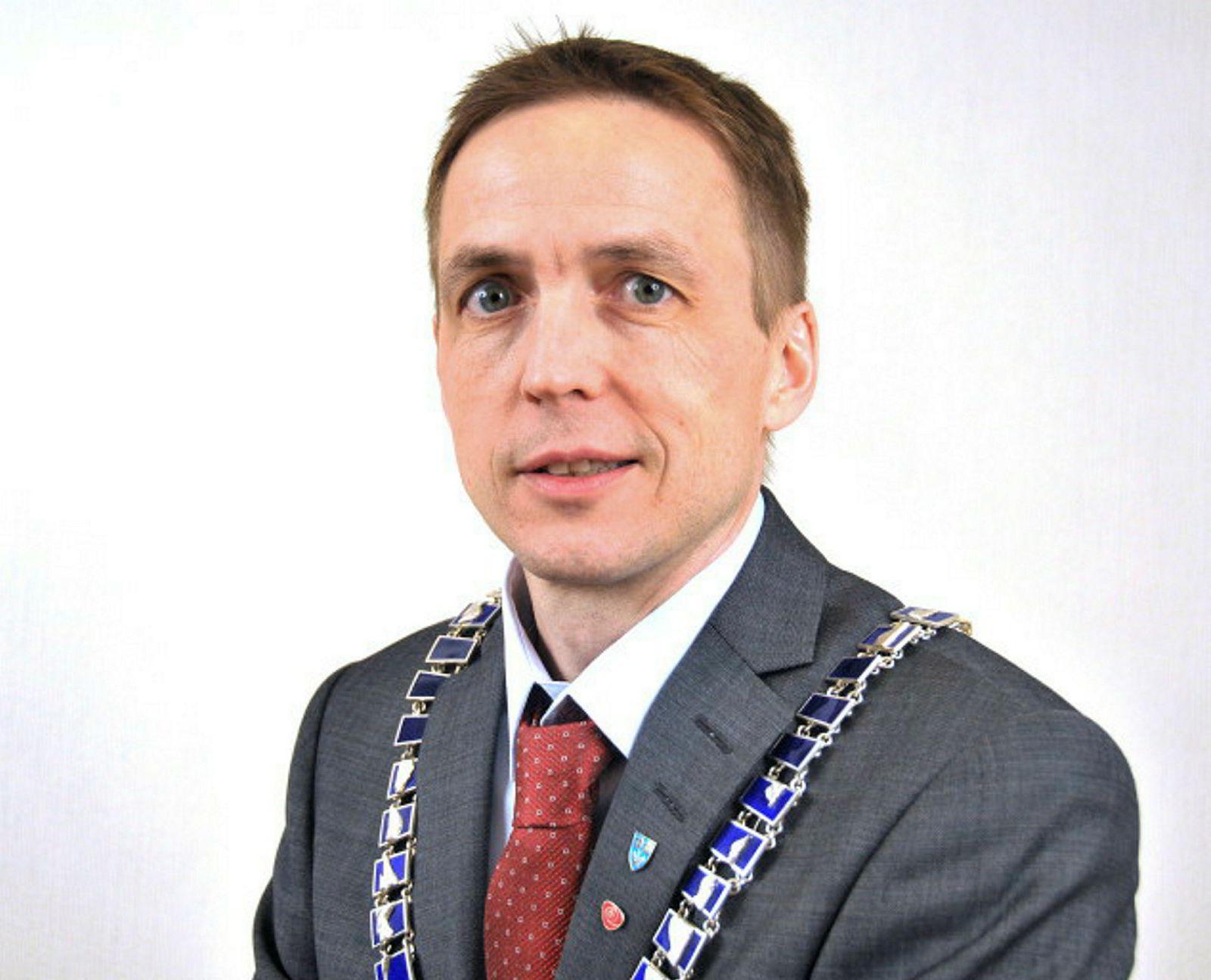 Ordfører Sigurd Stormo i Meløy kommune.
