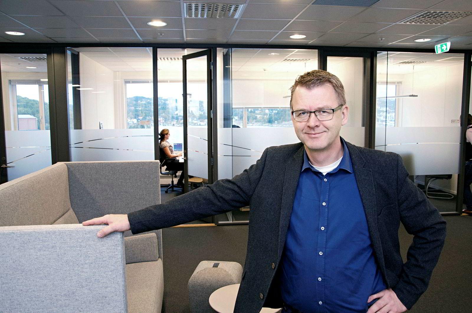 Høye Høyesen, administrerende direktør for MacGregor Norway.