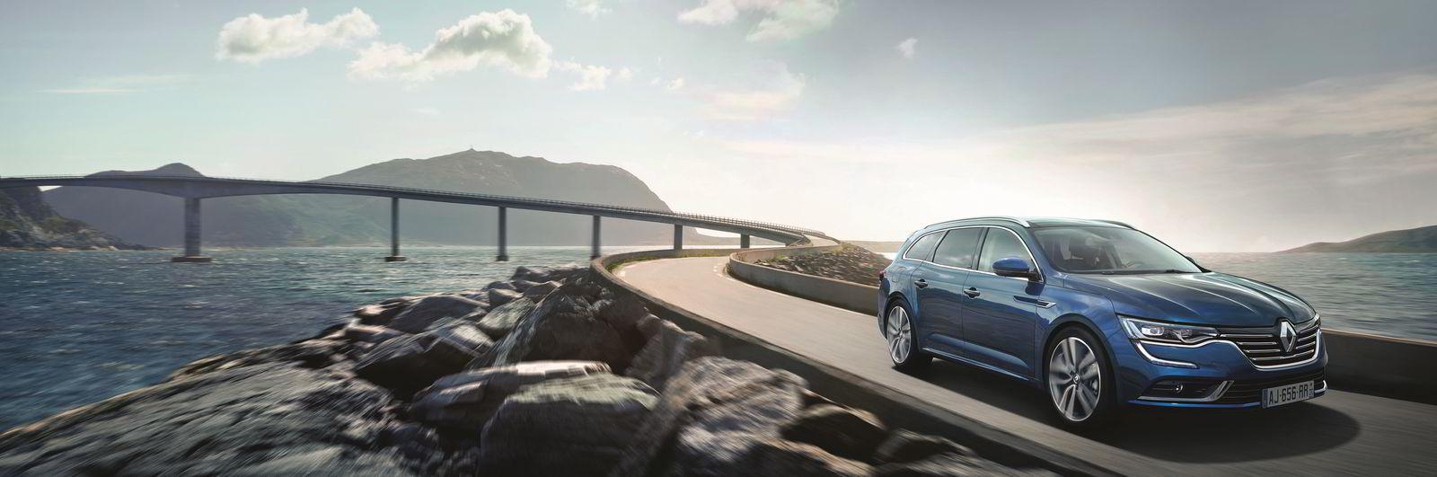 Renault Talisman på Atlanterhavsveien.